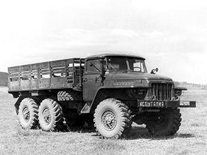 УРАЛ 375 2 дв. борт-тент 375Д