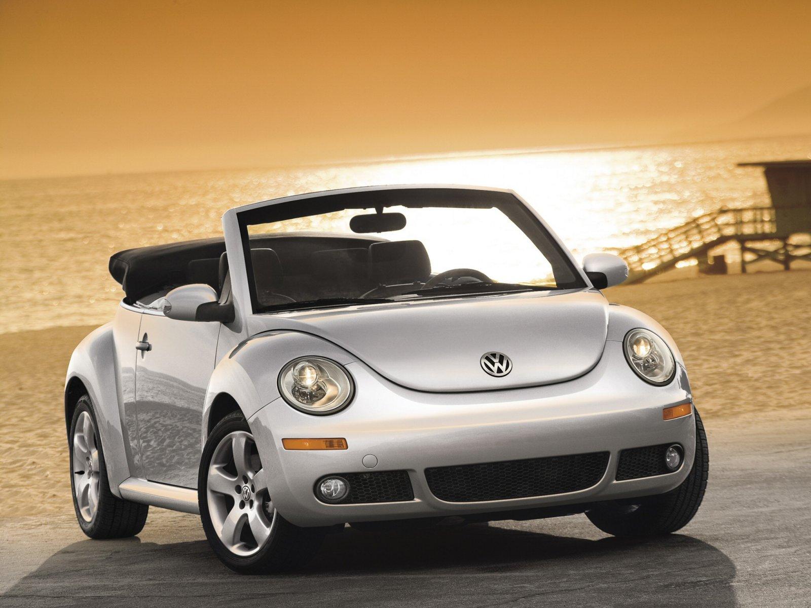 Volkswagen (Фольксваген) Beetle New Cabrio 2005-2011 г.