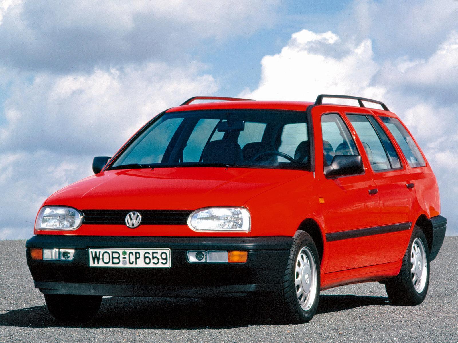 Volkswagen (Фольксваген) Golf Variant 1993-1999 г.