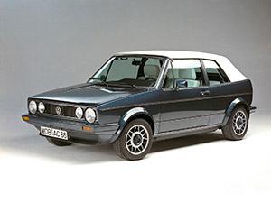 Cabriolet с 1981 по 1983