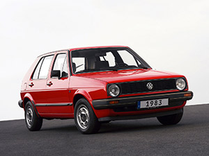 Технические характеристики Volkswagen Golf 1.3 1983-1986 г.