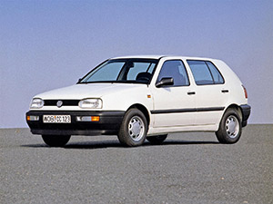 Технические характеристики Volkswagen Golf 1.9 TDI 1992-1997 г.