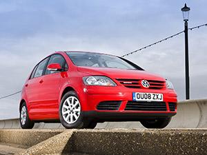 Технические характеристики Volkswagen Golf Plus 1.9 TDI 2005-2009 г.