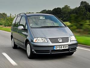 Технические характеристики Volkswagen Sharan 2.0 2000-2010 г.