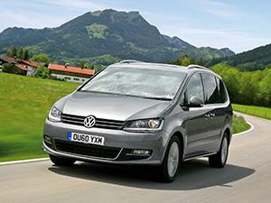 Технические характеристики Volkswagen Sharan