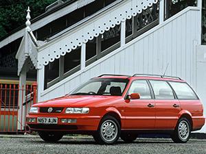 Технические характеристики Volkswagen Passat 2.0 1993-1997 г.
