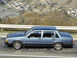 Volvo 760 4 дв. седан 760
