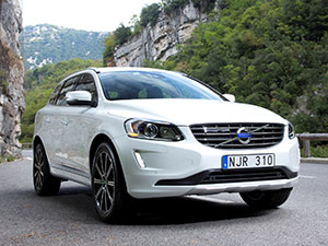 Технические характеристики Volvo XC60 2.0 D3 2013- г.