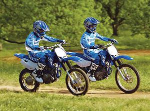 Yamaha TT-R эндуро 125 LW