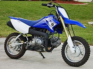 Yamaha TT-R эндуро 50E