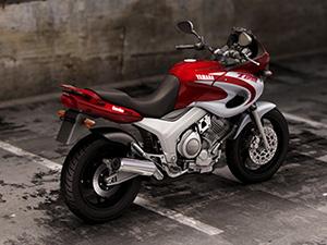 Yamaha TDM спортбайк 850