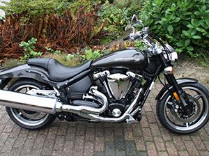 Yamaha Road Star чоппер Warrior 1700