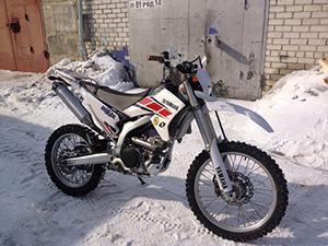 Yamaha WR эндуро 250R