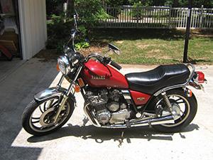 Yamaha XJ спортбайк 650