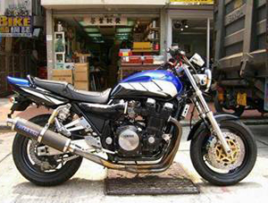 Yamaha XJR спортбайк 1200