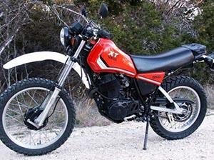 Yamaha XT эндуро 550