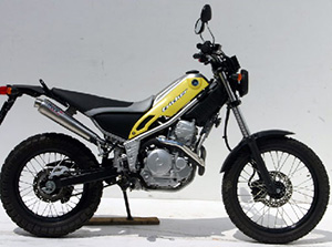 Yamaha Tricker 250 эндуро Tricker 250