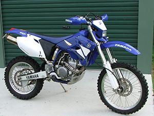 Технические характеристики Yamaha WR