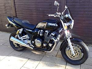 Технические характеристики Yamaha XJR