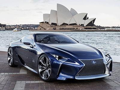 Серийный Lexus LF-LC поступит в продажу в 2017 году