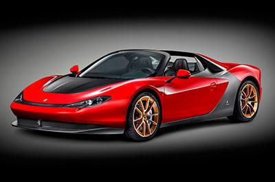 Компания Ferrari представила серийную версию родстера, посвященную Серджио Пининфарине