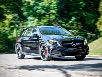 Новый «заряженный» Mercedes GLA AMG