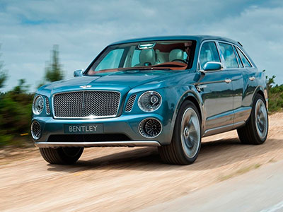 Bentley готовит премьеру первого внедорожного авто