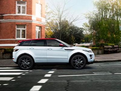 Land Rover показал специальное издание внедорожника Range Rover Evoque NW8