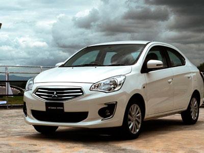 В Европе появился самый доступный седан Mitsubishi модели Attrage