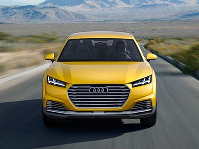 Новая внедорожная модель Audi получила название