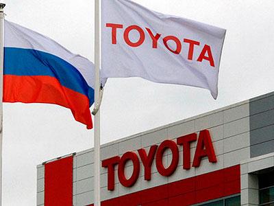 Итоги 2014-ого года показали, что Toyota является лидером по выручке в России