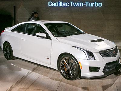Cadillac уже принимает заказы на ATS-V 2016-ого года
