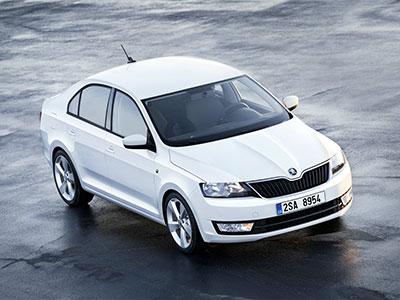 Модернизированный автомобиль Skoda Rapid появится в России весной 2015-ого года