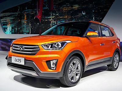 Hyundai наладит выпуск внедорожного авто X25 в Петербурге