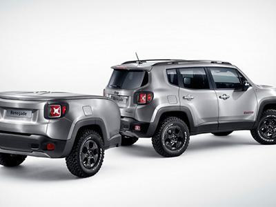 На женевском салоне представят высокотехнологичный внедорожник Jeep Renegade Hard Steel