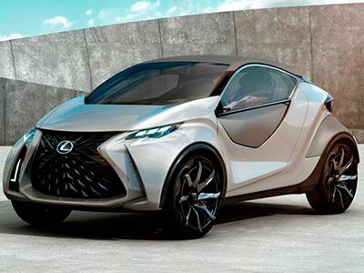 Новый уникальный концепт Lexus LF-SA рассекречен до официального дебюта