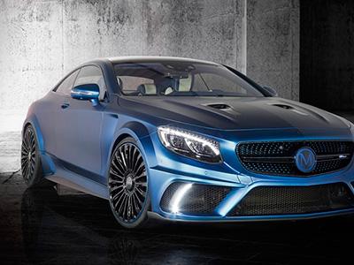 Автомобильное ателье Mansory представило 985-сильное купе Mercedes-Benz S63 AMG Coupe Diamond Edition