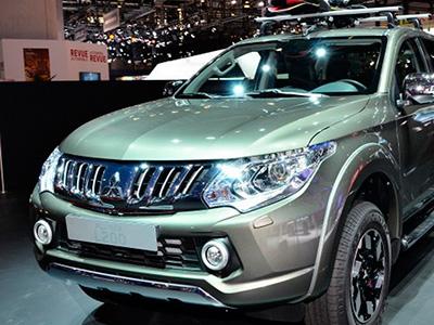 На женевском салоне официально продемонстрирован новый автомобиль пикап Mitsubishi L200
