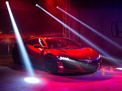 На женевский автосалон приехало спортивное купе Honda NSX 2016-ого года