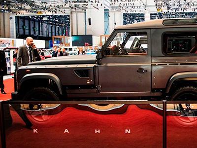 Kahn Design представил в Женеве невероятный шестиконечный Flying Huntsman 110 WB 6x6