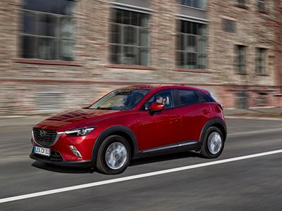 Известны цены на кроссовер Mazda CX-3 2015 в Британии