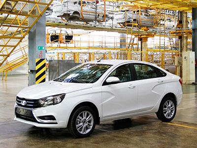 Седан Lada Vesta отличается преимуществами от своих прямых конкурентов
