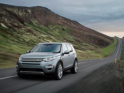В России объявлен релиз нового все дорожного автомобиля Land Rover Discovery Sport