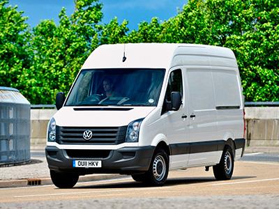 В России Volkswagen отзывает фургон Crafter