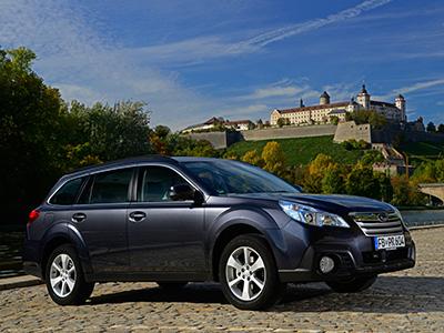Преемник Subaru Tribeca будет выглядеть как увеличенный вариант Outback