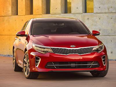 Kia представил первое фото автомобиля Optima