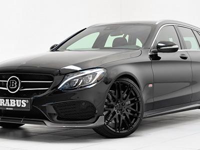 Авто ателье Brabus продемонстрировало обработанный универсал Mercedes-Benz C-Class Estate/Wagon 2015-ого года