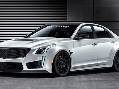 Марка Hennessey Performance рассекретила 1000-сильный автомобиль Cadillac CTS-V