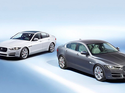 Начат серийный выпуск седана Jaguar XE 2015