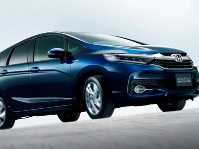 В сети представлен новый гибридный автомобиль Honda Shuttle